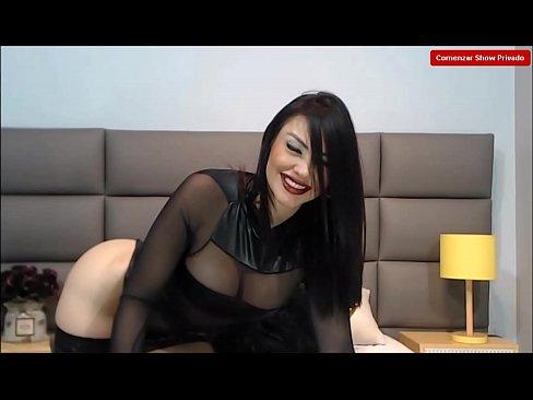 Muy caliente haciendo onu super show - kendraParker - modello di webcam molto caldo e la sua super show