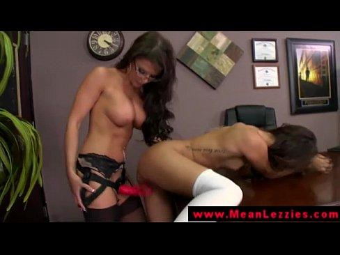 Women masturbate to porn videos