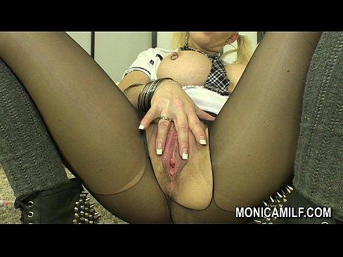 Monica milf busty