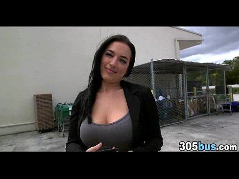 Hardcore Big Tits Outdoor