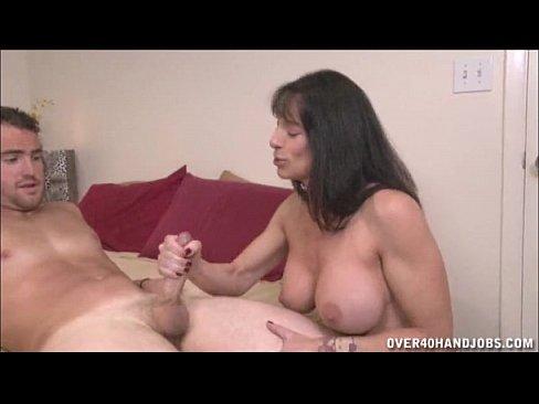 Topless Milf Handjob