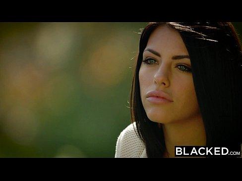 BLACKED Brunette Adriana Chechik Bionn Triur de BBCs