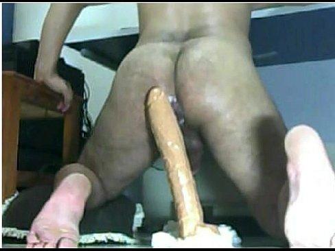 Giant dildo in my ass part ii