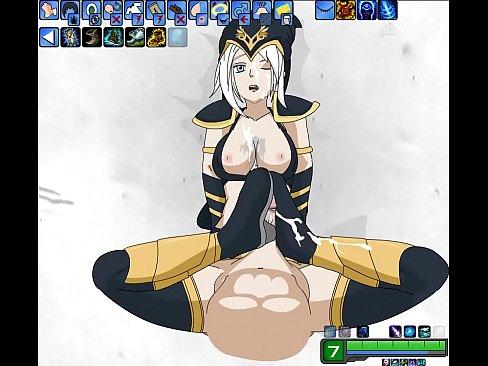 Sex sexy naked syndra