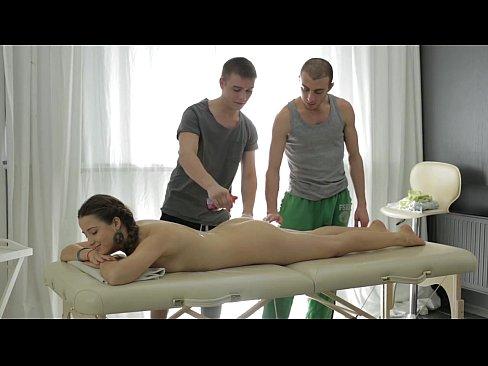 threesome massage xxx