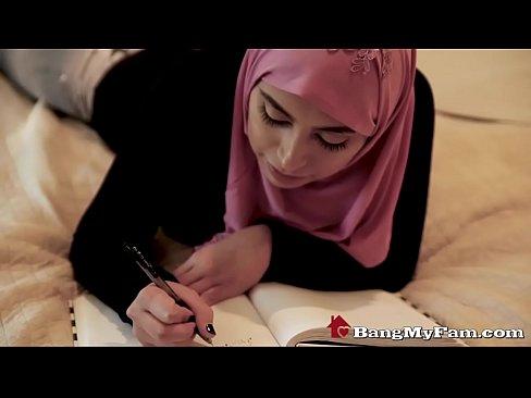 Arab riding cock muslim family took a