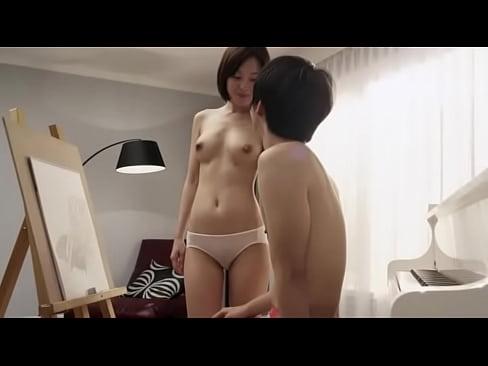 Bastante desnudo coreano Blanco