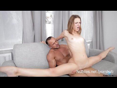 Dick on pussy splits