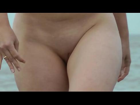 Beach video girls walking topless — photo 9