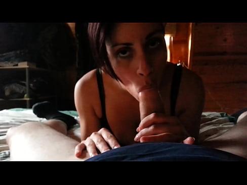 Slow deepthroat ex girlfriend