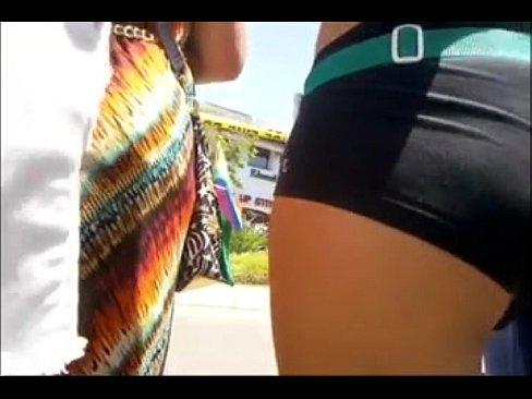 Spandex Shorts Booty