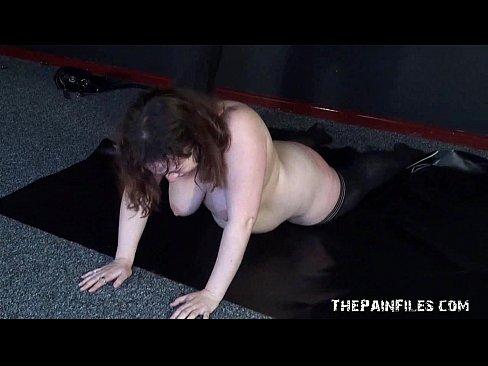 Bbw slavegirls whipping and tit pain