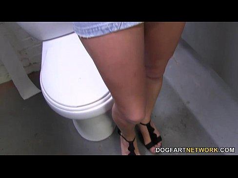 Lylith LaVey Having Fun With Black Cocks - Gloryhole