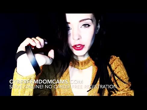 Exact free femdom video pain talk