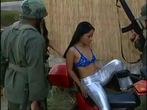 Mei-Yu and Jade Marcela get gangbanged!