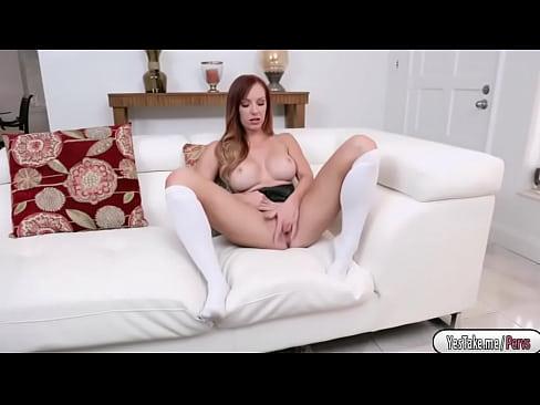 Horny Dani Jensen sucks huge dick
