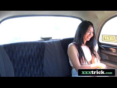 Exotiques Fille Thailandaise Trompes En Casual Taxi Baise