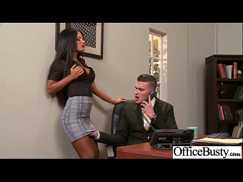 Schlampe Office Girl Mit Gro?en Juggs Sex Genie?en Film-19