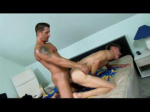 Bedroom spunk bareback
