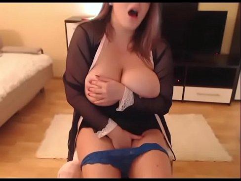 Huge Natural Tits Tease