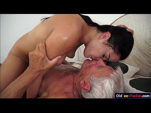 Girls free video suck grandpas cock racers