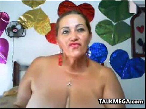 Fat busty granny