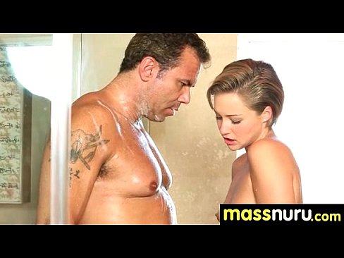 Nuru Massage Ends with a Hot Shower Fuck 17