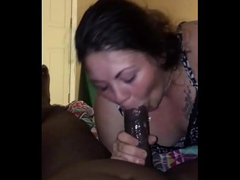 Amateur ladyboy blowjob