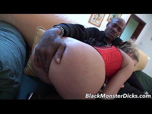 Black cock anal milf