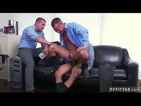 Urinal handjob porn gif