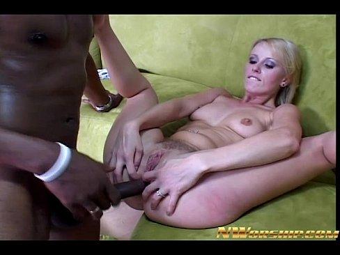 Blonde milf venus interracial sex