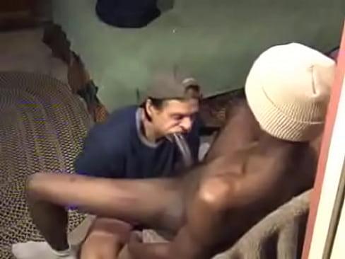 Black homeless gay porn