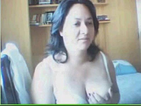 Coroa na webcam (Mature woman on cam)