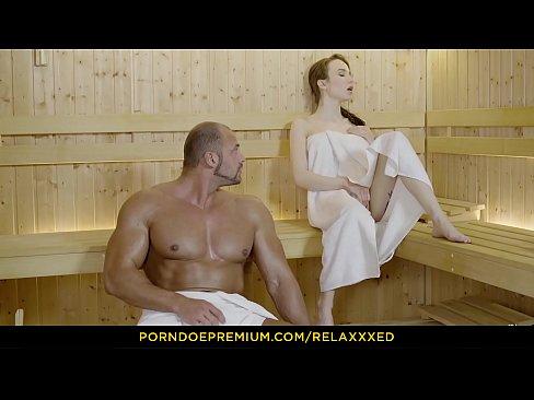 RELAXXXED - Angelic Schonheit leidenschaftlich Durchfuhrungen in der sauna fantasy fuck
