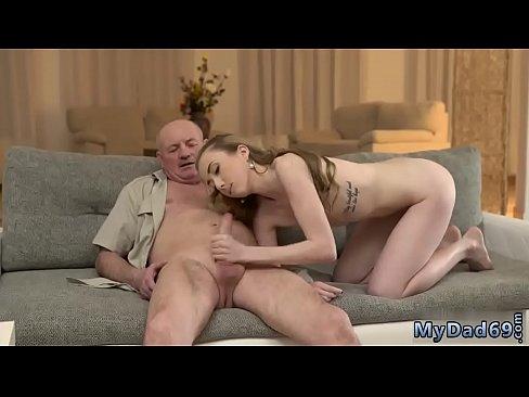 Old Man Young Girl Latina
