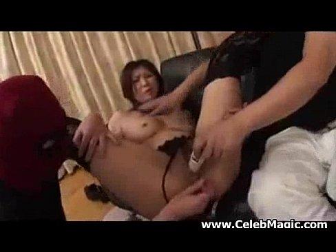 Sweet Nanako Yoshioka 2dicks at a time
