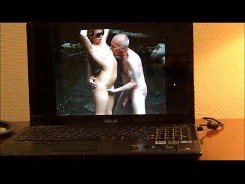 Horny Grandpa Wanking On Web