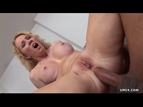 Pointy fake tits