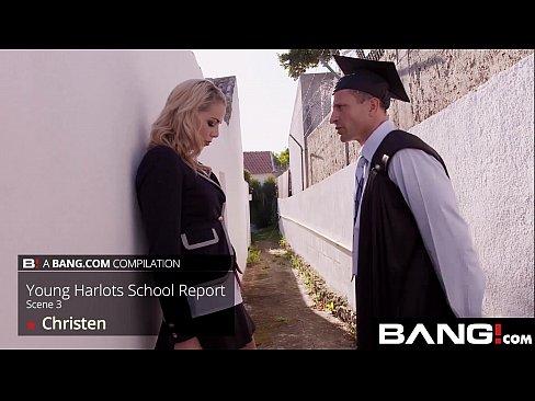 BANG.com: School Girl Harlots Fuck The Professor