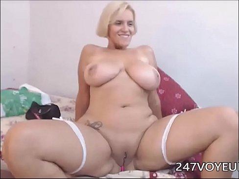 Mature Blonde Foot Worship