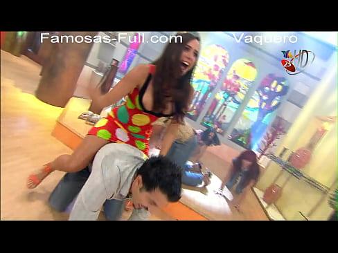 Betty Monroe Mexican TV Hostess Oops Nipslip!